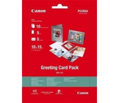 Canon Papier Greeting Card Pack GCP-101 10x15cm 5+5+10ks (GCP101) (0775B077)