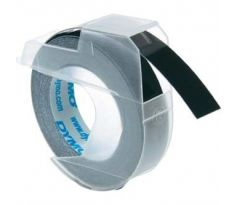 páska DYMO 3D Black Tape (9mm) (S0898130)