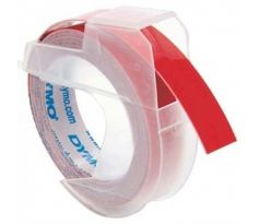 páska DYMO 3D Red Tape (9mm) (S0898150)