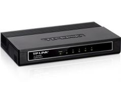 Mini Desktop Gigabit Switch TP-LINK TL-SG1005D 5-port 10/100/10000M, 5x 10/100/1000M RJ45 ports, Plastic case (TL-SG1005D)