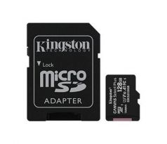 Pamäťová karta Kingston Canvas Select Plus microSDXC 128GB Class 10 UHS-I 100/10 MB/s (+ adaptér) (SDCS2/128GB)